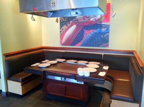 Marvelous Benihana: Dining Booth