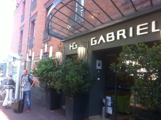 Hôtel Gabriel Paris-Issy : Hotellentrén