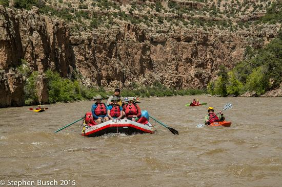 Dinosaur River Expeditions: On the Yampa River