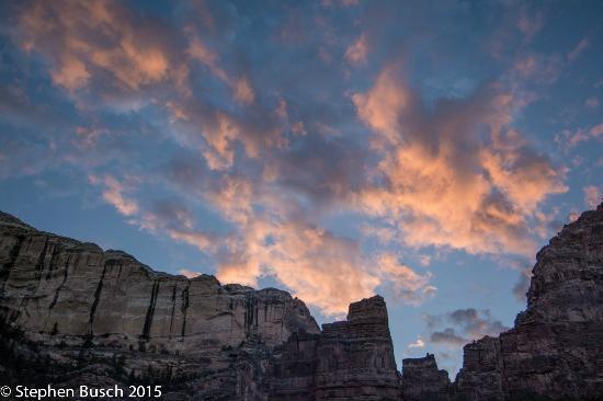 Dinosaur River Expeditions: Twilight in Dinosaur National Monument