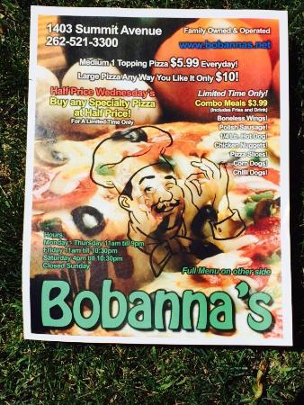 Bobanna's Pizzeria
