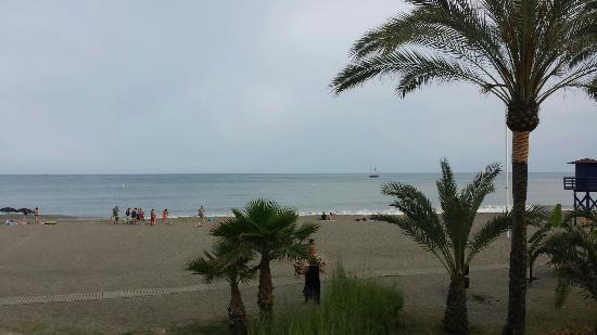 La Perla Beach : Great beach