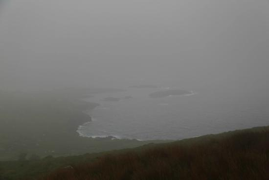 The Kerry Way: I'm sure the view were beautiful but are lost on foggy, raiiny days