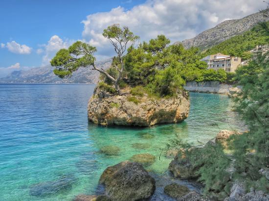 Bluesun Hotel Soline : Oh the scenery 2