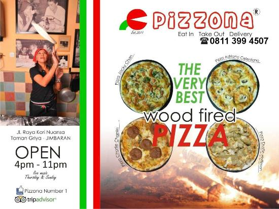 Pizzona: The Very Best Pizza On Bali