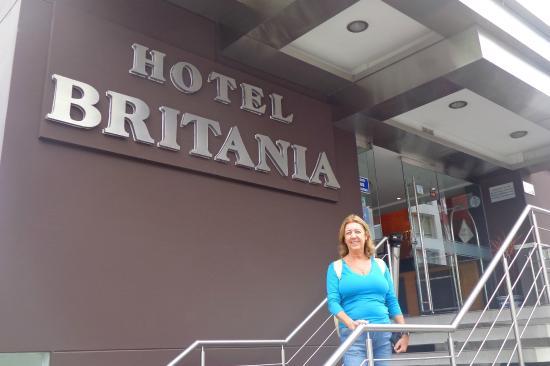 Hotel Britania Miraflores Entrada Do