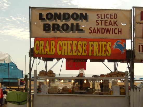 Virginia Beach Boardwalk Food Option Art Show