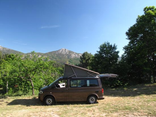 Evisa, Frankrike: Vues montagnes...