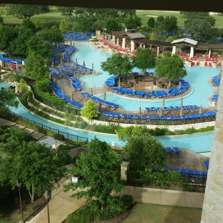 View To The Water Park Picture Of Jw Marriott San