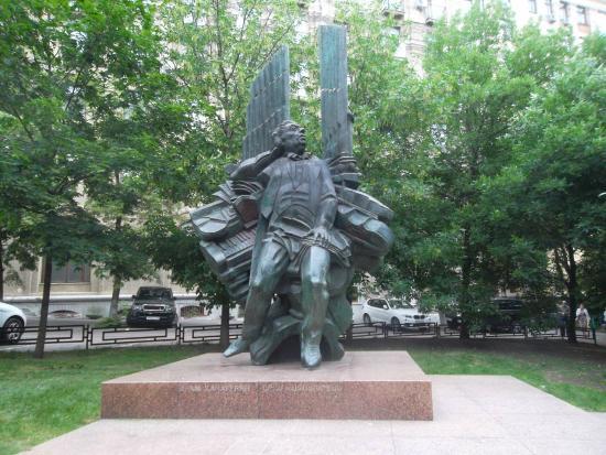 Aram Khachaturyan Statue
