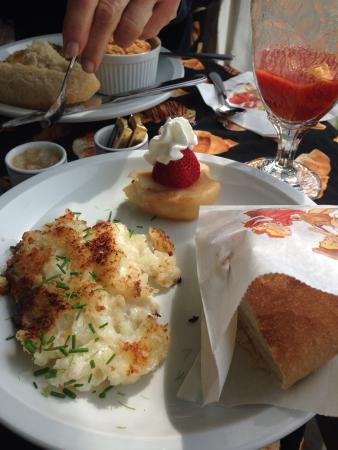 Stirling House Bed and Breakfast : Great breakfasts!