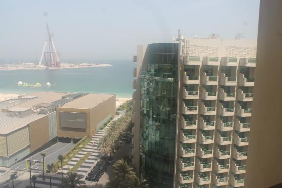 D Exhibition Jbr : View from th floor picture of hilton dubai the walk