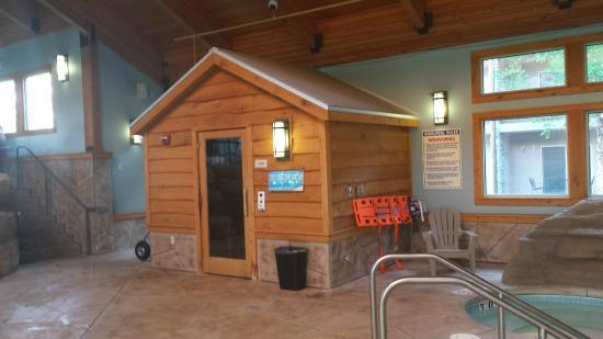 Ho-Chunk Casino Hotel and Convention Center: sauna