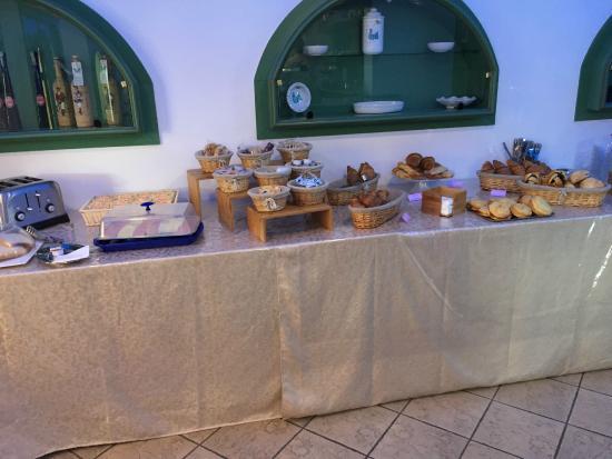 Palm Village Villasimius : Buffet colazione