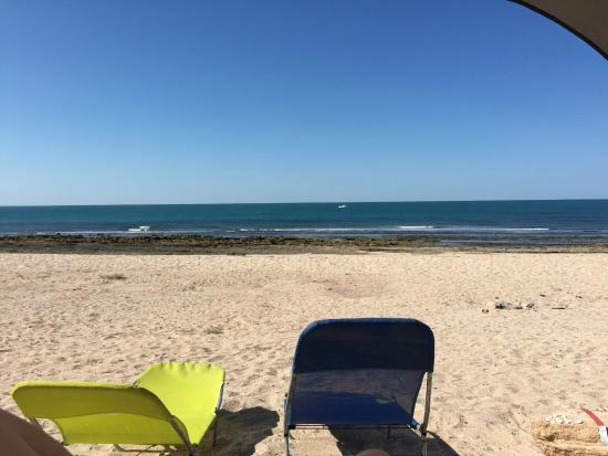 Foto De The Reef Rv Park Puerto Pe 241 Asco Our View