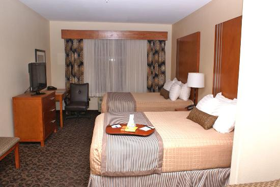 Best Western Plus Rose City Conference Center Inn: Room 319A Twin Queen Beds