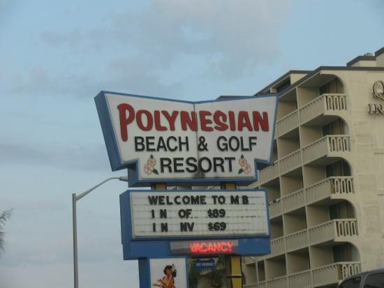 Picture Of Polynesian Oceanfront Motel