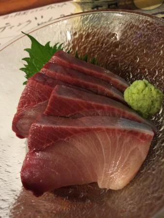 Seafood Bar Tsukiji Totokichi: srice fo butter fish