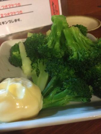 Seafood Bar Tsukiji Totokichi: ブロッコリー