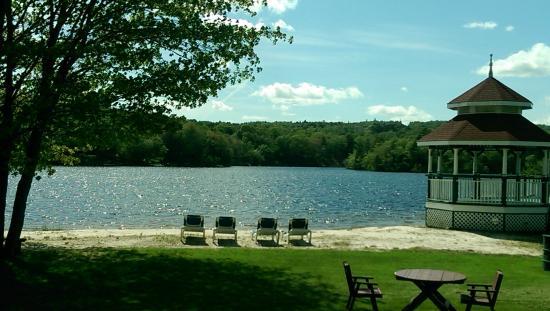 Inn on the Lake: the beach at the Inn