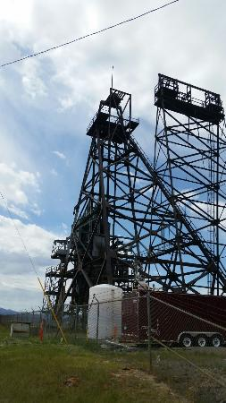 Butte Trolley Tour: Many Headframes on tour