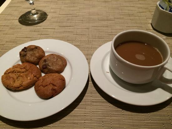 The Morgan Library Dining Room: Fresh Baked Cookies...still Warm.