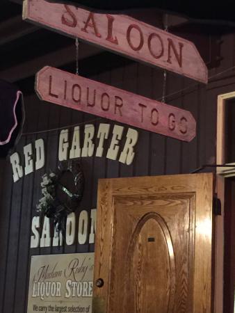 Red Garter Saloon: Outside