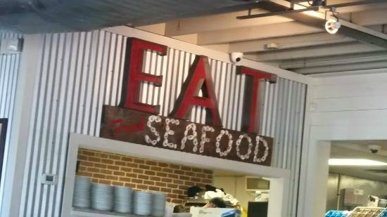 Eat seafood picture of north beach fish camp neptune for North beach fish camp menu