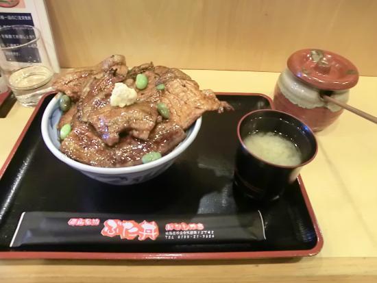 Hanatokachi: 半ばら豚丼 中盛