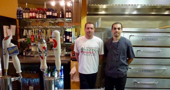 Spaghetti Eddie's Pizza Cafe': LM & AP
