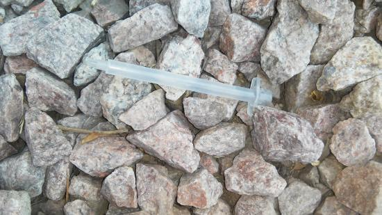 Red Roof PLUS+ Tempe   Phoenix Airport: One Of The Drug Needles I Found On