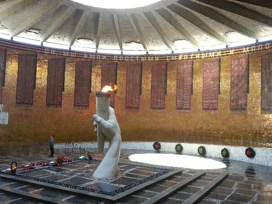 Volgograd, Russland: The Eternal Flame