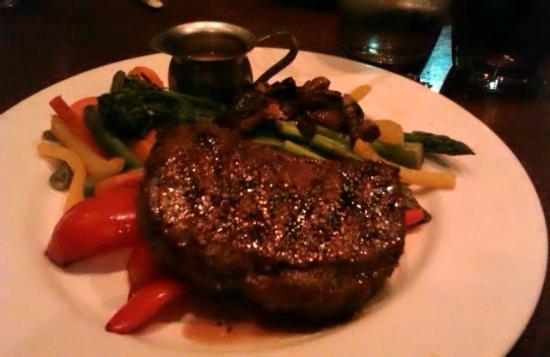The Keg : a perfect steak!