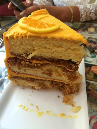 Orange Crunch Cake Florida