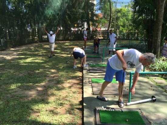 Club Med Bali : Golf learning session