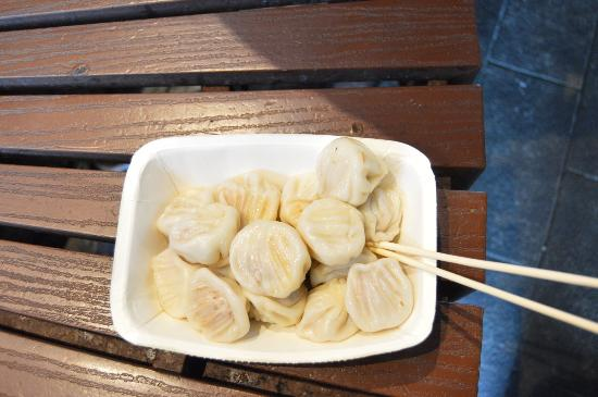 délicieux dumplings au porc