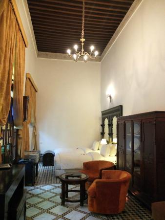 La Maison Bleue : Standard twin room on ground floor