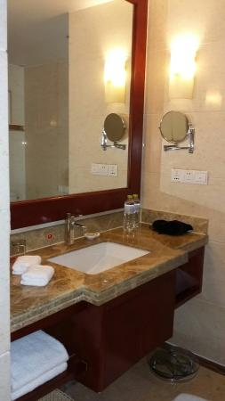 Ramada Plaza Chongqing West: This is a beautiful well kept hotel inside and out.  Confirm the location before you book it is