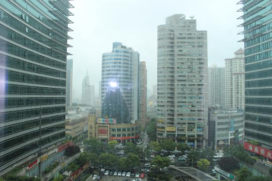 Pullman Shanghai Skyway Hotel View From Room
