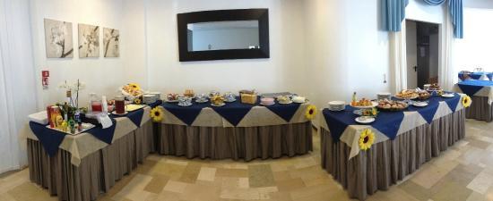 Hotel Haiti: Il nostro Buffet delle colazioni !