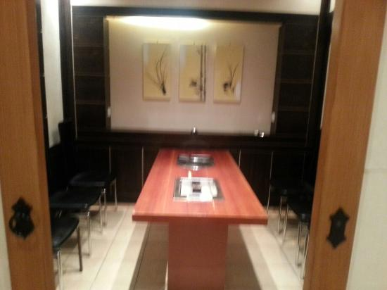 Korean Bbq With Private Room London