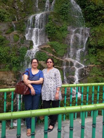 Hotel Polynia: fountain view in darjeeling