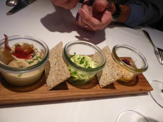 Rebers Pflug: The starter they brought out to us on arrival