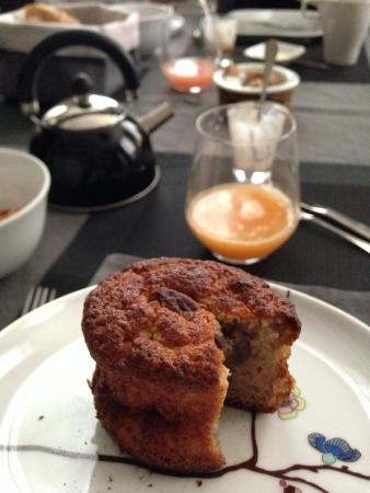 L'Albiousse : Home-made breakfast