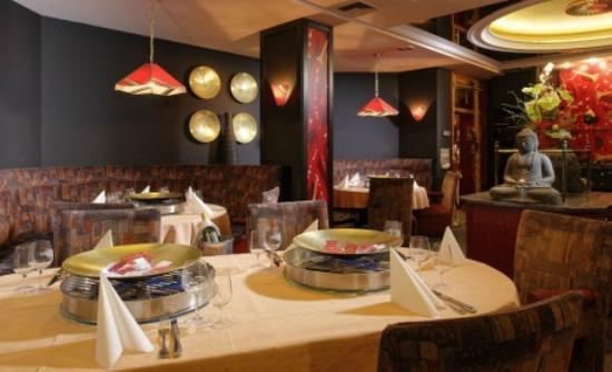 Au Parc Hotel Fribourg: La Coupole, restaurant thaïlandais