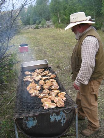 Cottonwood Guest Ranch: camp food