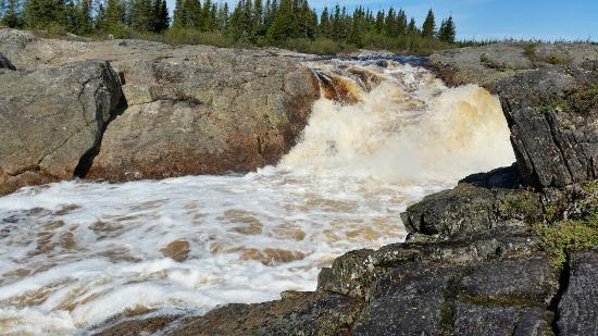 Mary's Harbour, Canada: White Water Falls