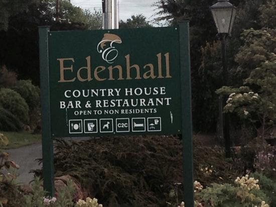 Edenhall Country House Hotel: Tranquility at its best.