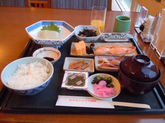 Hotel Chocolat Hakodate: ゴージャスな朝食