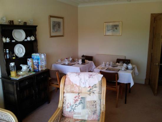 Colyford, UK: Breakfast room